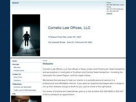 Cornelio Law Offices, LLC (New London, New Hampshire)