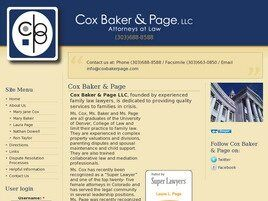 Cox Baker & Page, LLC (Castle Rock,  CO)