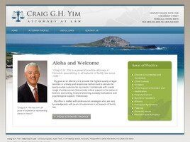 Craig G. H. Yim, Attorney at Law ( Honolulu,  HI )