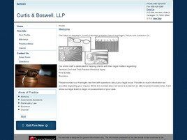 Curtis & Boswell, LLP (Harlingen, Texas)