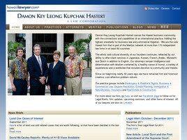 Damon Key Leong Kupchak Hastert Attorneys At Law A Law Corporation(Honolulu, Hawaii)