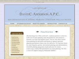 David C. Anderson, APC (San Diego, California)