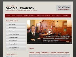 David E. Swanson (Newport Beach,  CA)