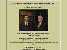 Davidson, Hopkins & Alexander, P.C. (Jefferson, Georgia)