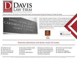 Davis, Clark, Butt, Carithers & Taylor, PLC (Fayetteville, Arkansas)