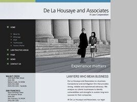De La Housaye & Associates A Law Corporation (San Francisco,  CA)