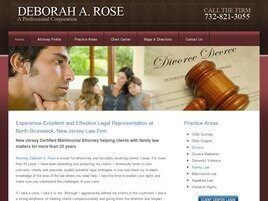 Deborah A. Rose A Professional Corporation (Middlesex Co.,   NJ )