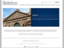 Decker, Jones, McMackin, McClane, Hall & Bates A Professional Corporation (Fort Worth, Texas)