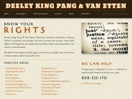 Deeley King Pang & Van Etten A Limited Liability Law Partnership ( Honolulu,  HI )