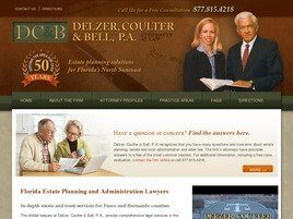 Delzer, Coulter & Bell, P.A. (Port Richey,  FL)