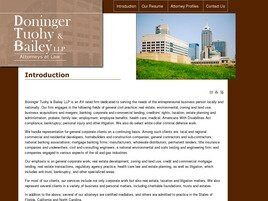 Doninger Tuohy & Bailey LLP (Indianapolis, Indiana)