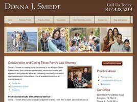 The Family Law Firm of Donna J. Smiedt, PLLC ( Arlington,  TX )
