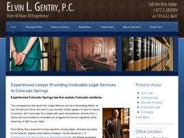 Elvin L. Gentry, P.C. (Colorado Springs,  CO)