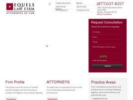 Equels Law Firm (Miami-Dade Co.,   FL )