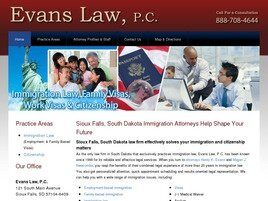 Evans Law, P.C. Attorneys at Law ( Sioux Falls,  SD )