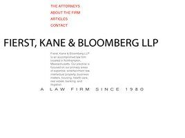 Fierst, Kane & Bloomberg LLP (Springfield,  MA)