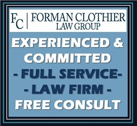 Forman Clothier Law Group, LLC (Baltimore Co.,   MD )