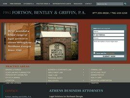 Fortson, Bentley and Griffin A Professional Association (Athens, Georgia)