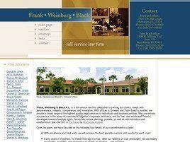 Frank, Weinberg & Black, P.L.(Plantation, Florida)