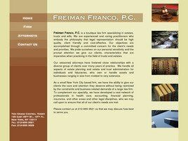 Freiman Franco, P.C.(New York, New York)
