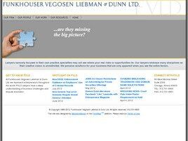 Funkhouser Vegosen Liebman & Dunn Ltd. ( Chicago,  IL )