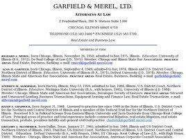 Garfield & Merel, Ltd. ( Chicago,  IL )
