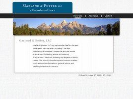 Garland & Potter, LLC (Pinedale,  WY)