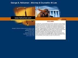George A. Heitczman Attorney and Counsellor at Law (Ackermanville,  PA)