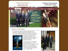 Gieg and Gieg Attorneys (Johnstown,  PA)