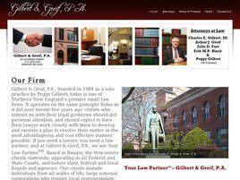 Gilbert & Greif, P.A.(Bangor, Maine)
