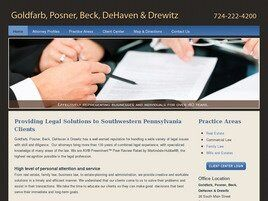 Goldfarb, Posner, Beck, DeHaven & Drewitz ( Washington,  PA )