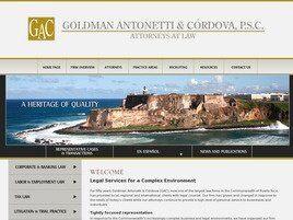 Goldman Antonetti & Córdova, LLC (San Juan, )
