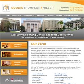 Goodis Thompson & Miller, P.A.(St. Petersburg, Florida)