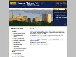 Gordon, Muir and Foley, LLP (Hartford,  CT)