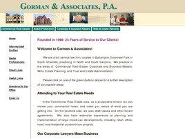 Gorman & Associates, P.A.(Charlotte, North Carolina)