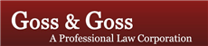 Goss & Goss A Professional Law Corporation (Modesto,  CA)