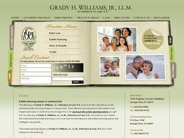Grady H. Williams, Jr., LL.M. Attorneys at Law, P.A. (Jacksonville,  FL)