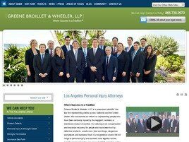Greene, Broillet & Wheeler, LLP ( Santa Monica,  CA )