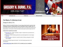Gregory N. Burns, P.A. (Fort Myers,  FL)