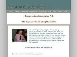 Greystone Legal Associates, P.C. (Washington,  PA)