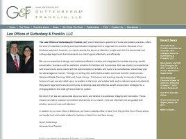 Law Offices of Guttenberg & Franklin, LLC (Baltimore,  MD)