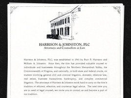 Harrison & Johnston, PLC(Winchester, Virginia)