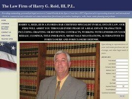 The Law Firm of Harry G. Reid, III, P.L. (Sanford, Florida)