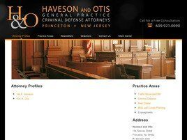 Haveson and Otis (Princeton,  NJ)