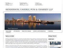 Henderson, Caverly, Pum & Charney LLP (Los Angeles Co.,   CA )