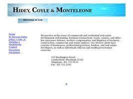Hidey, Coyle & Monteleone(Cumberland, Maryland)