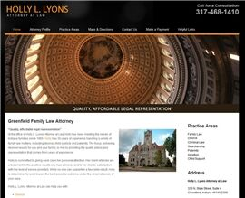 Holly L. Lyons, Attorney at Law ( Greenfield,  IN )