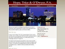 Hope, Trice & O'Dwyer, P.A. ( Little Rock,  AR )