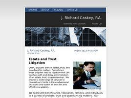 J. Richard Caskey, P.A. (Tampa,  FL)