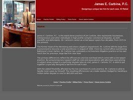 James E. Carbine, P.C. (Baltimore,  MD)
